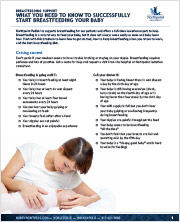 Breastfeeding Support Guide cover