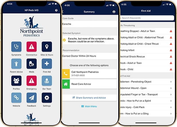 Northpoint Pediatrics Mobile App