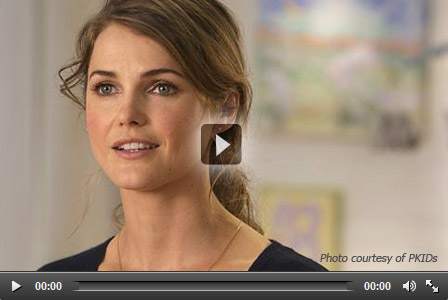 Watch video of Keri Russell talking about Pertussis